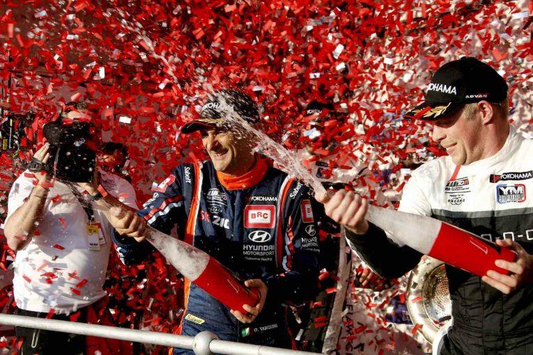 海外レース他 | 新生WTCR開幕、56歳の老兵タルキーニが3戦2勝で歴史に名を刻む初代勝者に