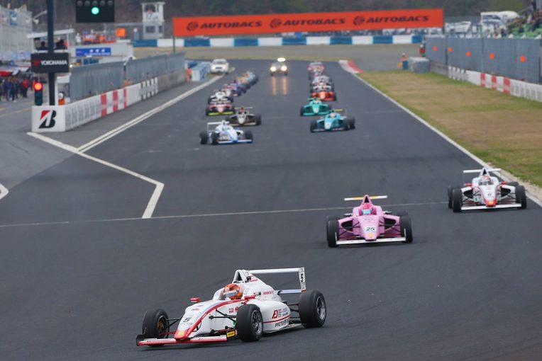 国内レース他 | 4年目のFIA-F4が岡山で開幕。初戦は名取鉄平と角田裕毅が勝利分け合う