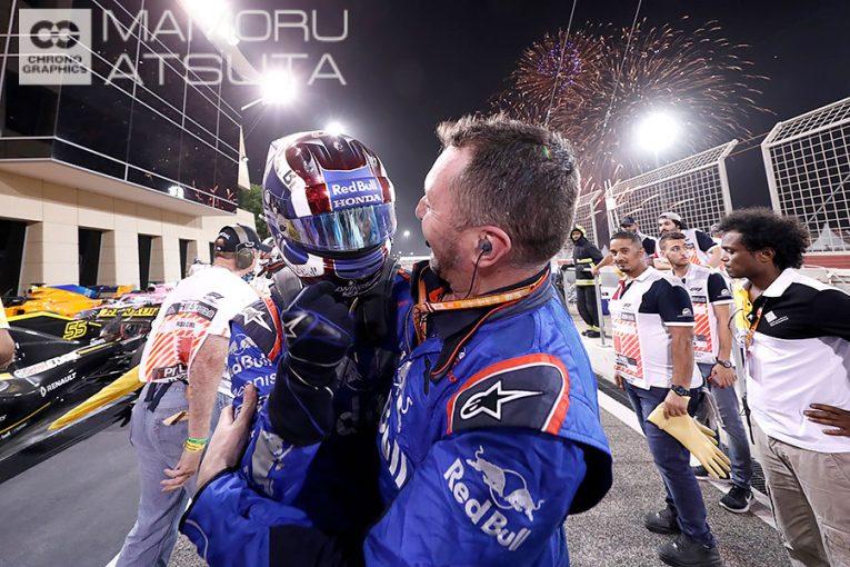 F1 | 【ブログ】Shots!──ガスリー4位入賞にスタッフたちも大喜び/F1第2戦バーレーンGP