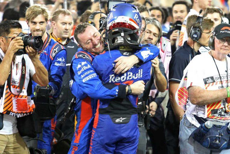 F1 | 【F1バーレーンGP 無線レビュー】大混戦の中団バトルを制したガスリーが歓喜の叫び