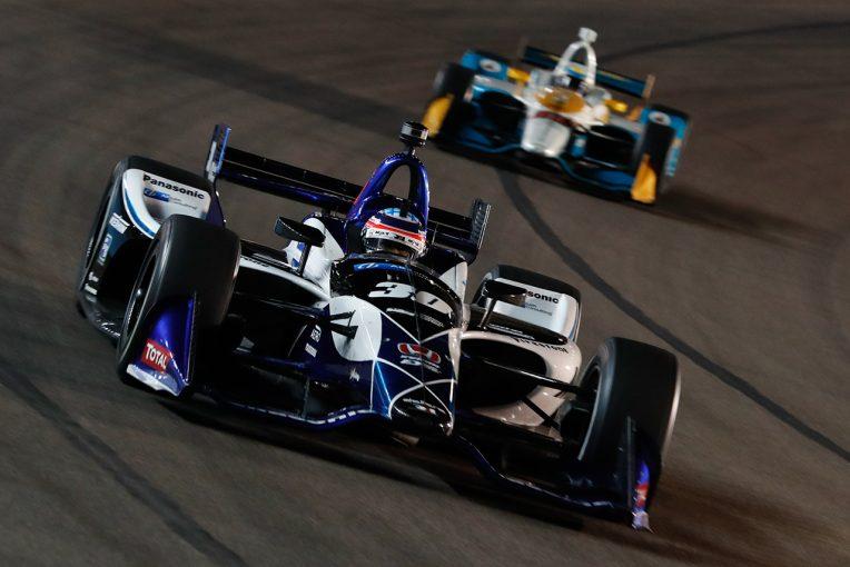 海外レース他   インディ:ショートオーバル初レースで見えた新エアロ適応力。琢磨のRLLRは苦戦中