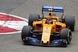 F1 | バンドーン「ミラーを見たら、右リヤホイールがぐらぐらしていた」マクラーレン F1中国GP金曜