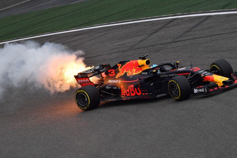 F1 | 【タイム結果】F1第3戦中国GP フリー走行3回目/リカルドがエンジンブロー。トップタイムはベッテルがマーク