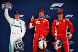 F1 | F1第3戦中国GP 予選:フェラーリが2戦連続でフロントロウ独占、トロロッソ・ホンダは1台がQ1突破