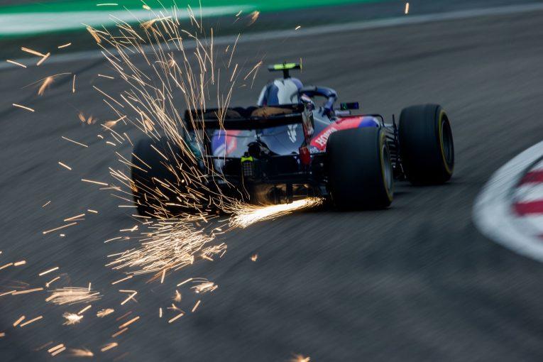 F1 | トロロッソ「これほどの競争力低下は予想外。原因は気温と風か」F1中国GP土曜