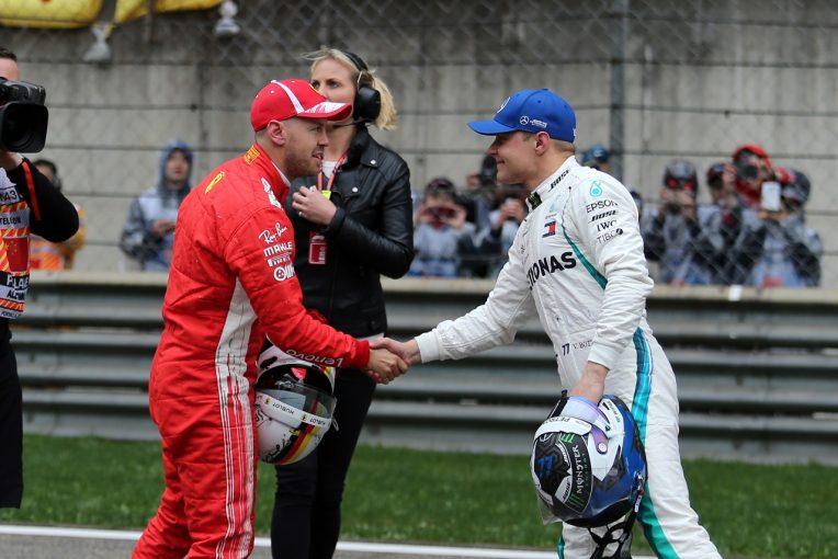F1   ボッタス予選3番手「フェラーリに0.5秒引き離されるとは本当に驚いた」メルセデス F1中国GP土曜