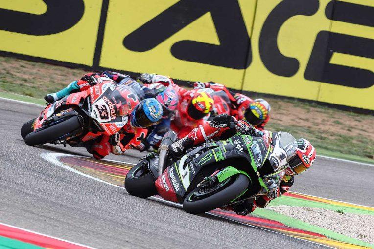 MotoGP | SBK第3戦レース1:多重クラッシュにより赤旗中断も、カワサキのレイがシーズン2勝目