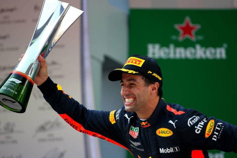 F1 | F1第3戦中国GP 決勝:戦略的中のリカルドが大逆転勝利、トロロッソ・ホンダは同士討ちに沈む