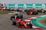 F1 | 【ポイントランキング】F1第3戦中国GP終了時点
