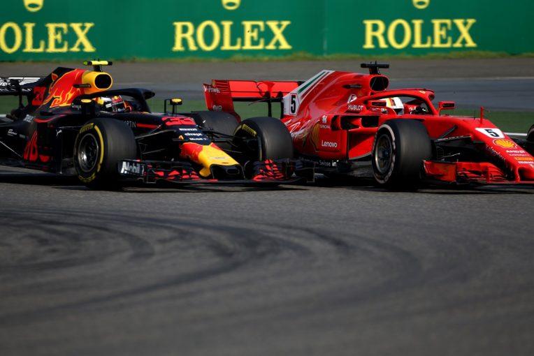 F1 | フェルスタッペン「ミスしてベッテルに接触。表彰台のチャンスを失った」レッドブル F1中国GP日曜