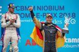 フォーミュラE第7戦ローマE-Prixで3位表彰台を獲得したアンドレ・ロッテラー