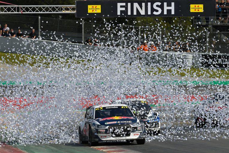 ラリー/WRC | 世界ラリークロス第1戦:エクストロームが優勝も、ソルベルグへの「尊重を欠く行為」で失格