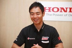 2018年、ホンダ・チーム・アジアの新監督として就任した青山