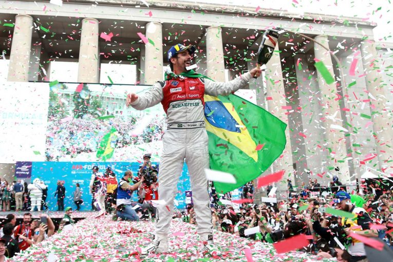 2位表彰台を獲得したルーカス・ディ・グラッシ