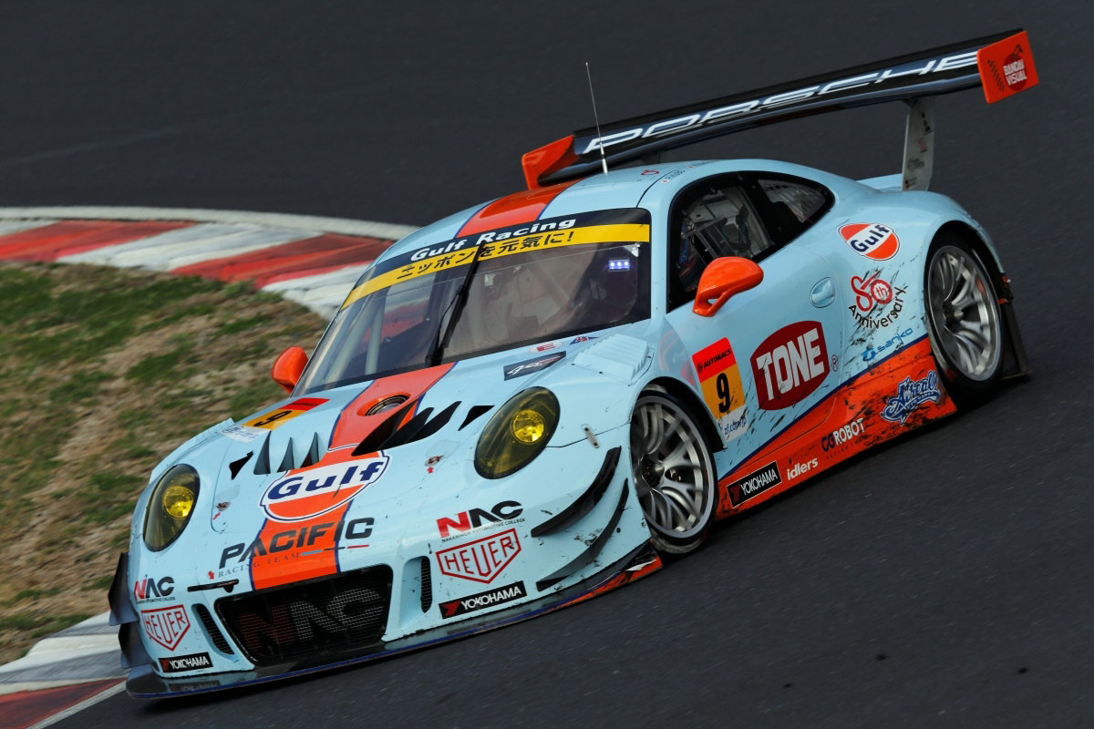 PACIFIC with GULF RACING スーパーGT第1戦岡山 レースレポート