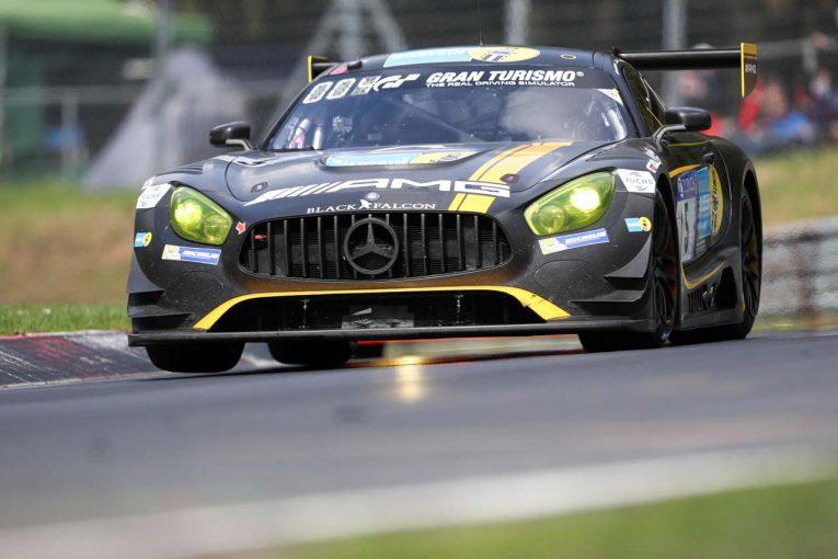 優勝した5号車メルセデスAMG GT3