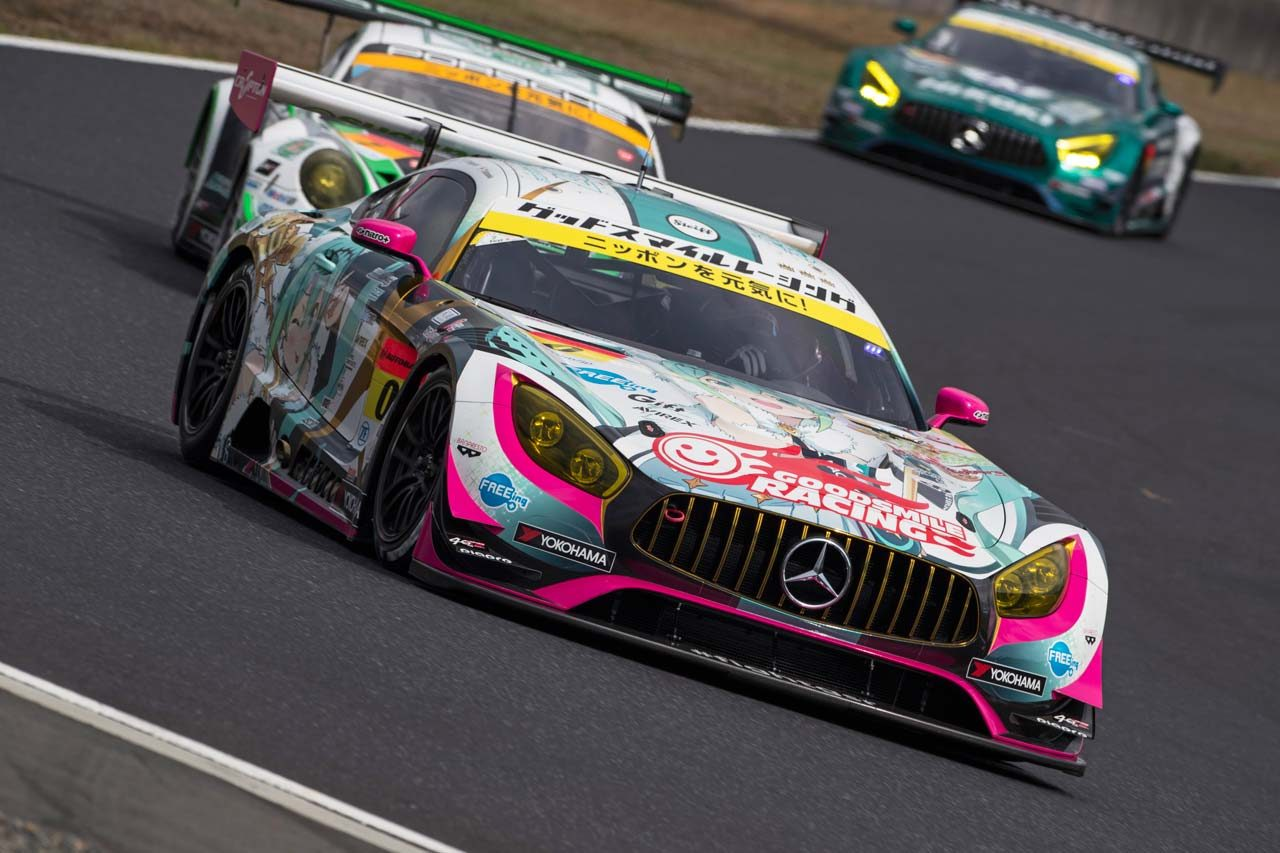 GOODSMILE RACING&TeamUKYO スーパーGT第1戦岡山 レースレポート