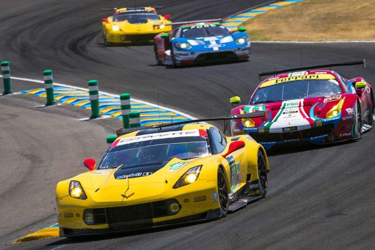 コルベット・レーシングが参戦するLM-GTEプロクラスは今季、フォード、フェラーリ、ポルシェ、アストンマーチン、BMWの5メーカーが激突する。