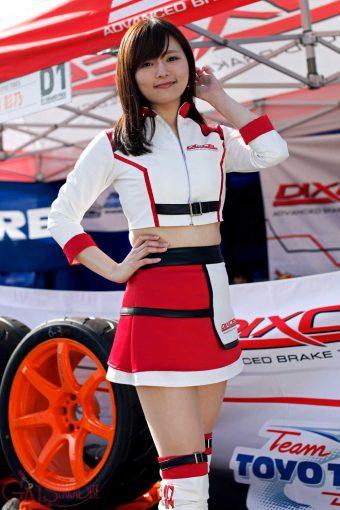 レースクイーン | 岡本ななみ(DIXCEL GIRLS/2018D1GP)
