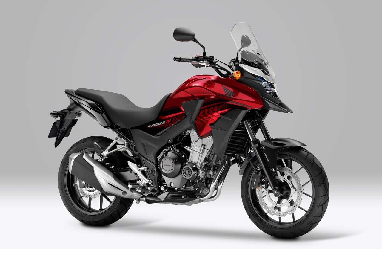 ホンダ、『400X』に2種類の新色を追加。ABSを標準装備し4月20日より発売