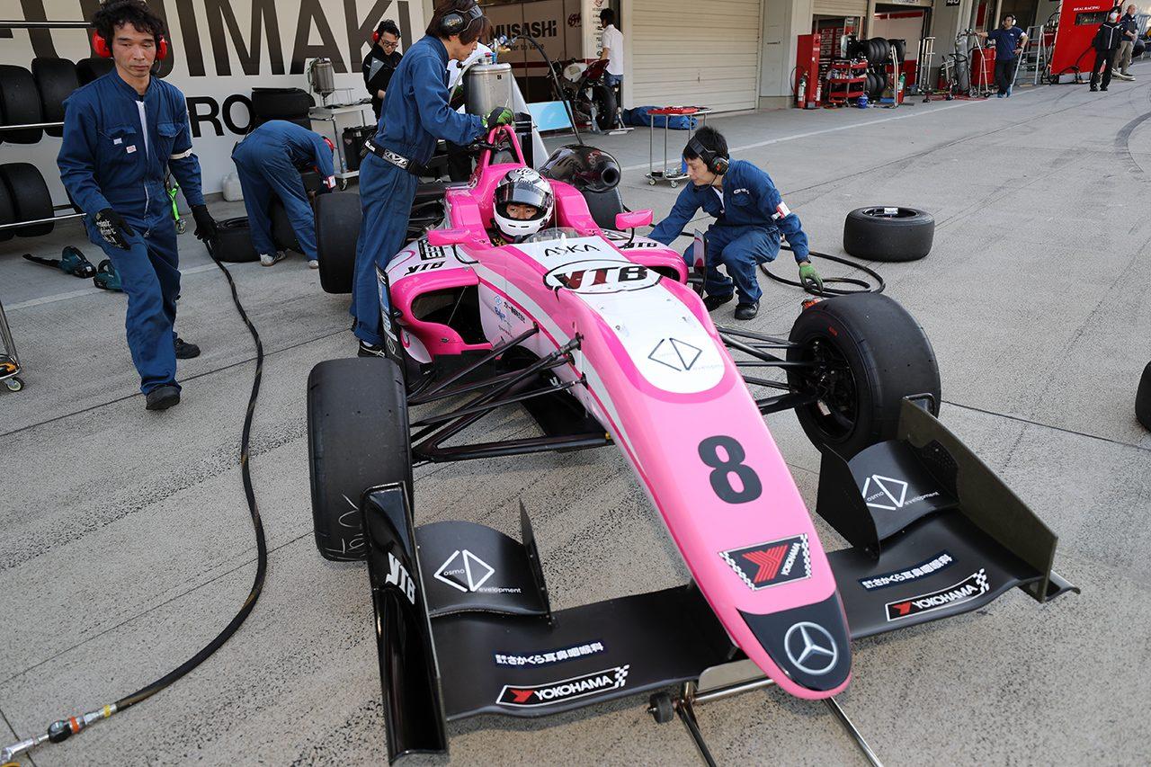 全日本F3鈴鹿:宮田が第1戦でF3での初ポールを獲得。第2戦は坪井がPP