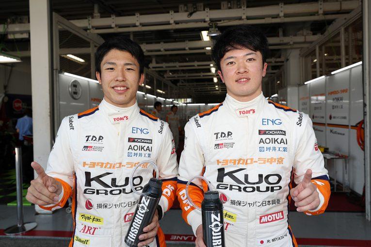 国内レース他 | 全日本F3鈴鹿:宮田が第1戦でF3での初ポールを獲得。第2戦は坪井がPP