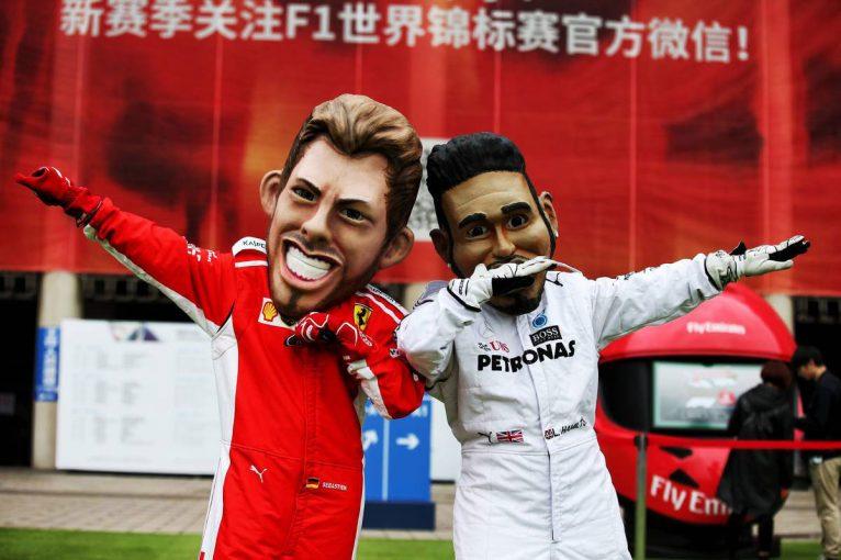 F1   毒舌パドック裏話 バーレーン&中国GP編:ライバル同士の不思議な絆