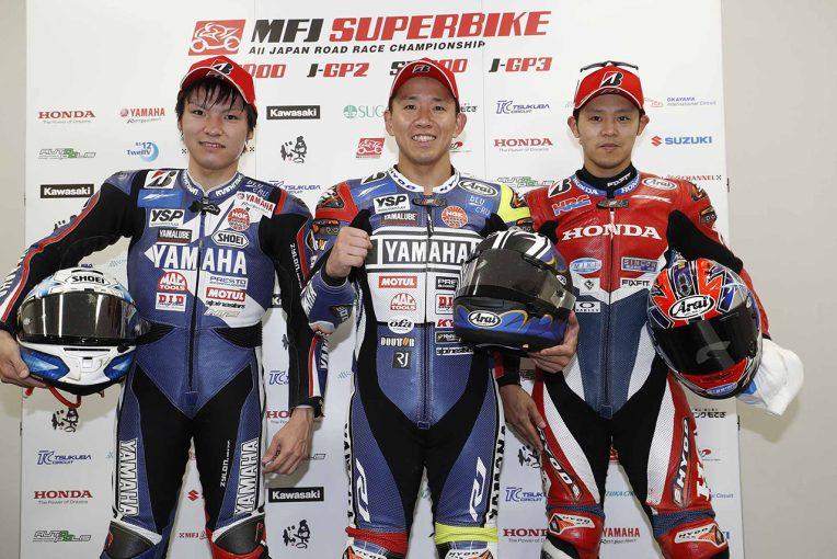 MotoGP | 中須賀「後ろが抜きにくいところで仕掛けた」/全日本ロード第2戦鈴鹿JSB1000レース1会見