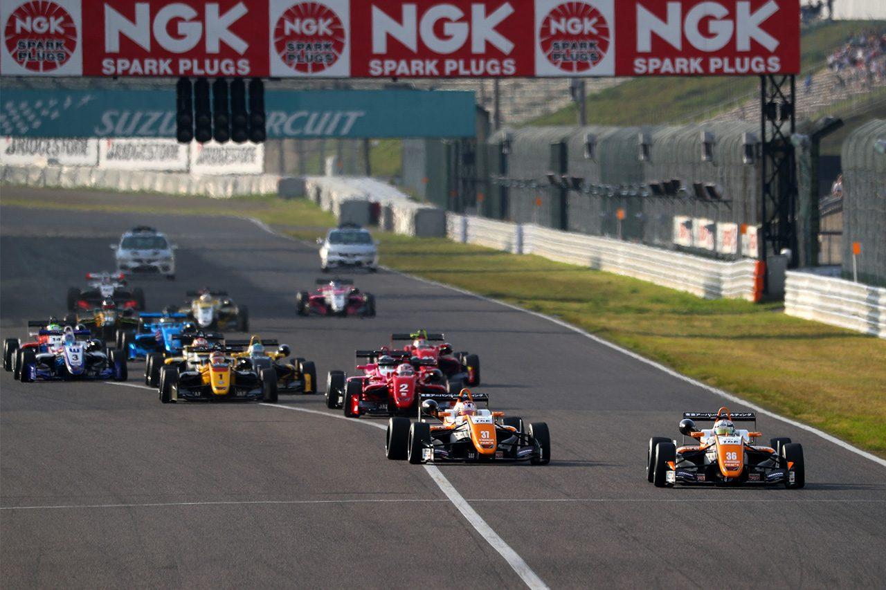 全日本F3:坪井がポール・トゥ・ウインで開幕2連勝。宮田、阪口が表彰台に