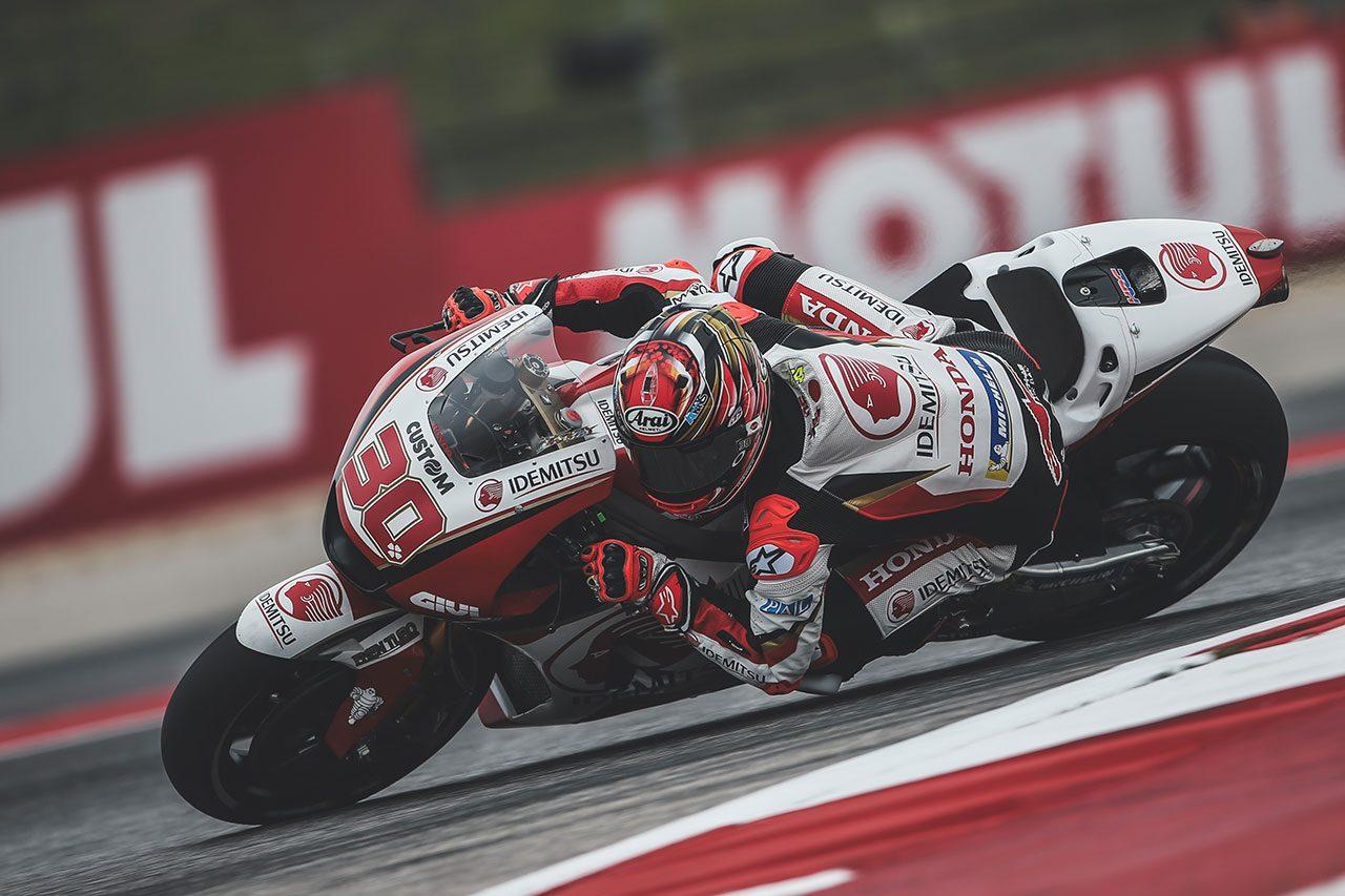 中上、MotoGPアメリカズGPでルーキー勢トップの13番手獲得。決勝ではトップ10目指す