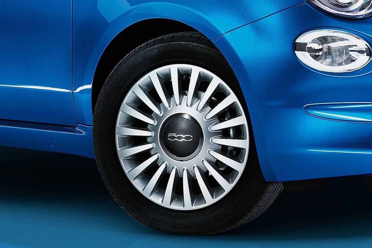 """特別な""""イタリアンブルー""""とクロームの限定車『フィアット500 ミラー』登場"""