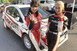 ラリー/WRC | SKE48卒業生の梅本まどか、コドライバーデビュー戦でクラス優勝。「新鮮な経験でした」