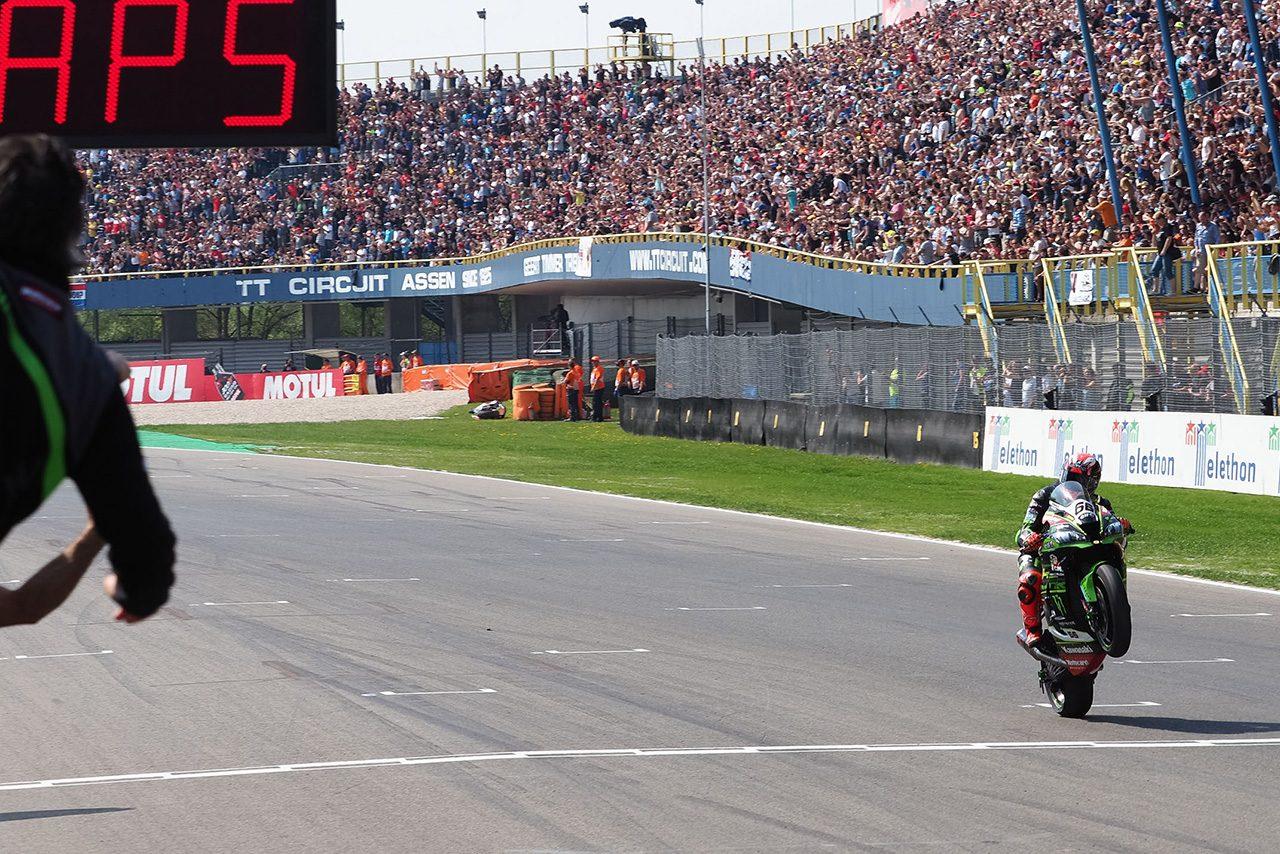 SBK第4戦アッセンレース2を制したトム・サイクス