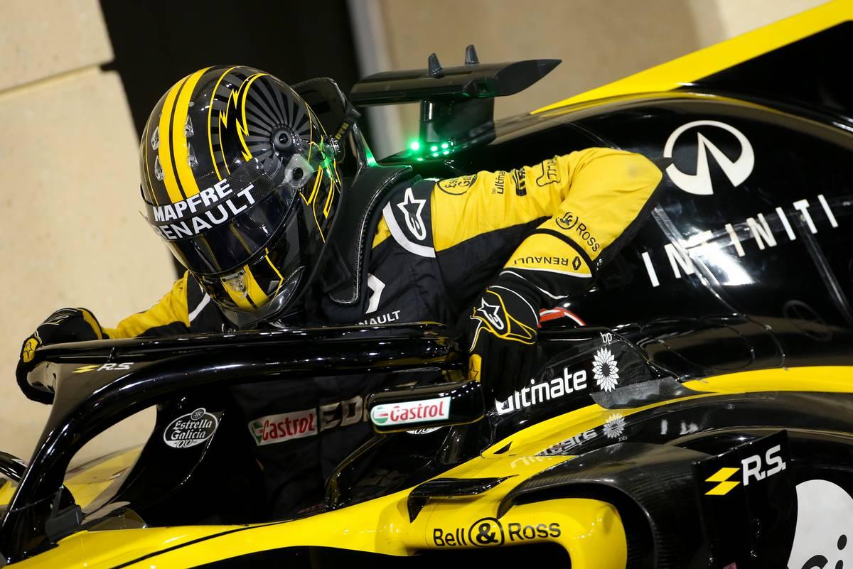 F1バーレーンGP ルノー  ニコ・ヒュルケンベルグ