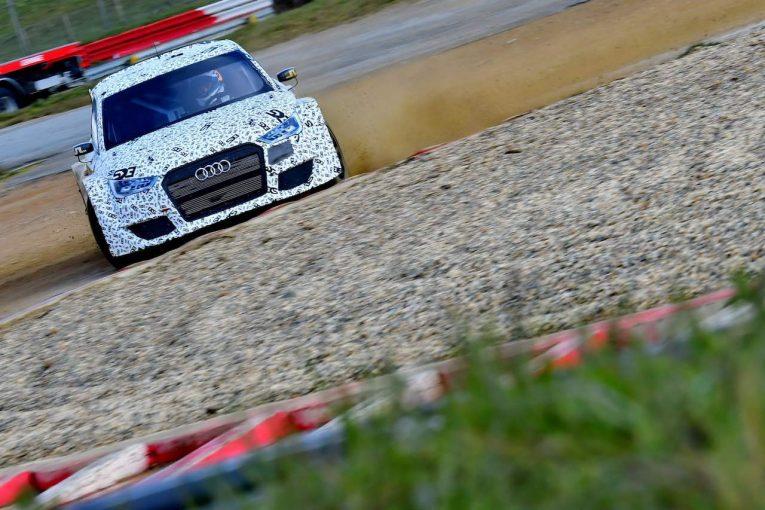 ラリー/WRC | 世界ラリークロス:元WRCドライバーのフランソワ・デュバルが17年型アウディS1で参戦