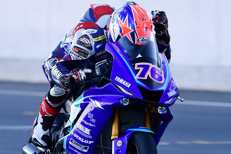 オーストラリアラウンドのレース2を制した伊藤勇樹