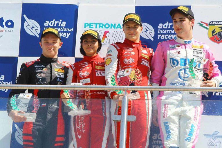レース1、3で勝利を飾ったエンツォ・フィッティパルディ(プレマ・セオドール・レーシング)