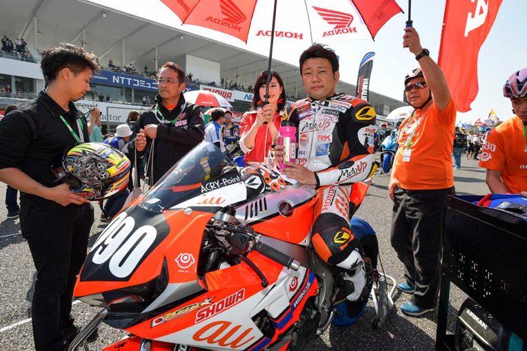 MotoGP | 全日本ロード:秋吉、ブリヂストンに合わせたCBR1000RRのセッティング「いい方向に進んだ」