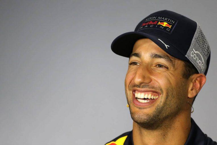 F1 | F1アゼルバイジャンGP木曜会見:終始笑顔のリカルドが唯一真顔で否定したある質問