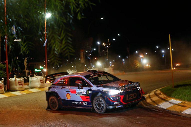 ラリー/WRC | 【順位結果】WRC第5戦アルゼンチン SS1後