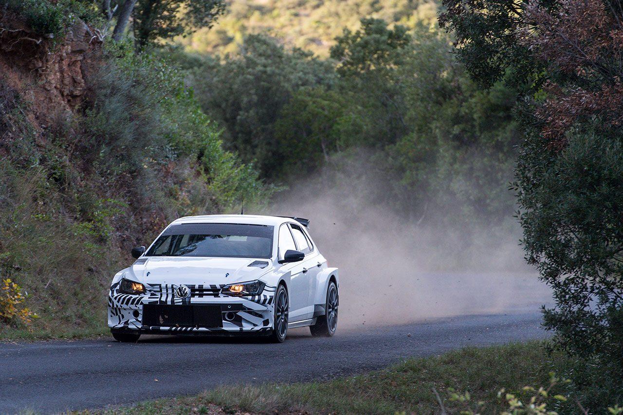 WRC:フォルクスワーゲンの新型ラリー車『ポロGTI R5』、10月のWRCスペイン戦で実戦デビュー
