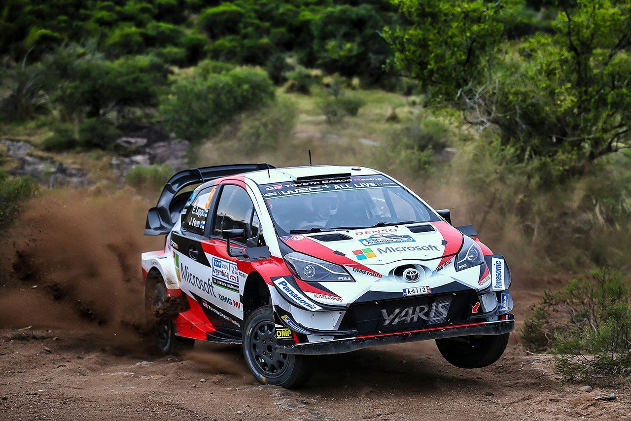 WRC:トヨタ、第5戦アルゼンチンで上々の走り出し。9番手と出遅れたラトバラ「少し慎重すぎた」