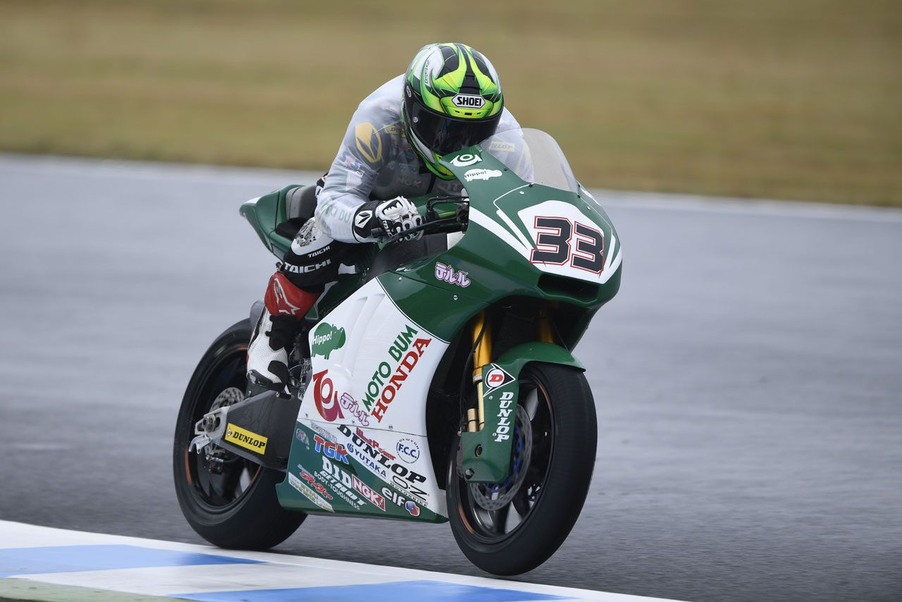 全日本J-GP2参戦中の榎戸育寛、MotoGPの登竜門レースにスポット参戦