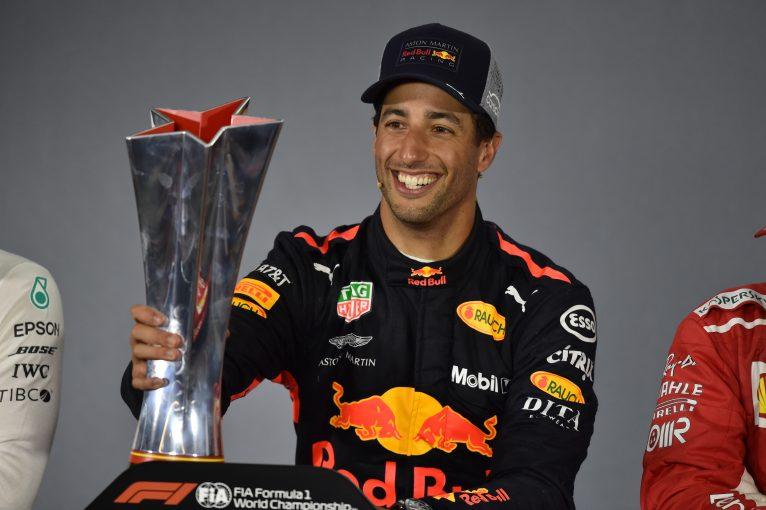 F1 | F1中国GPで勝利したリカルド、レース終盤は「PUトラブルを恐れつつ走っていた」と振り返る