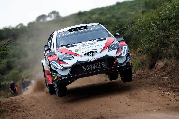 ラリー/WRC   【順位結果】WRC第5戦アルゼンチン SS8後
