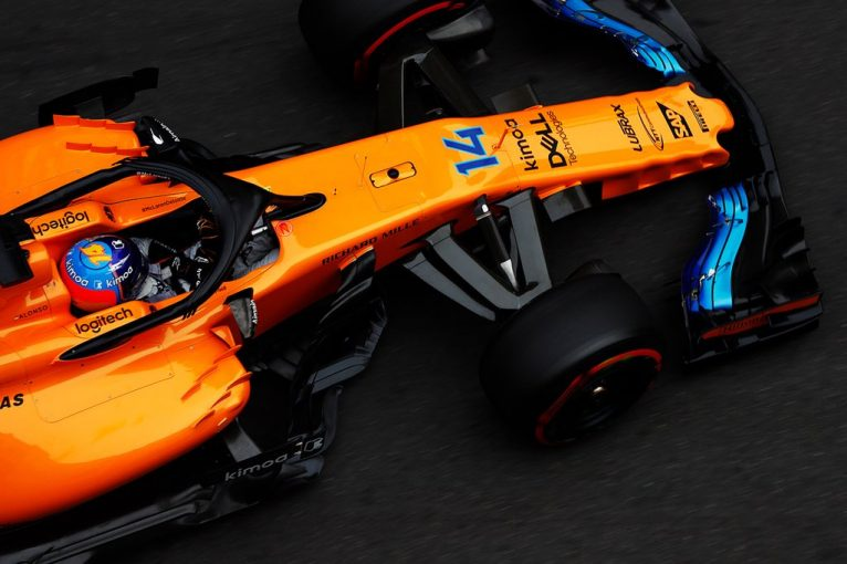 F1 | アロンソ「トップスピードが多少改善。ただ6番手は本当のポジションではない」マクラーレン F1アゼルバイジャンGP金曜