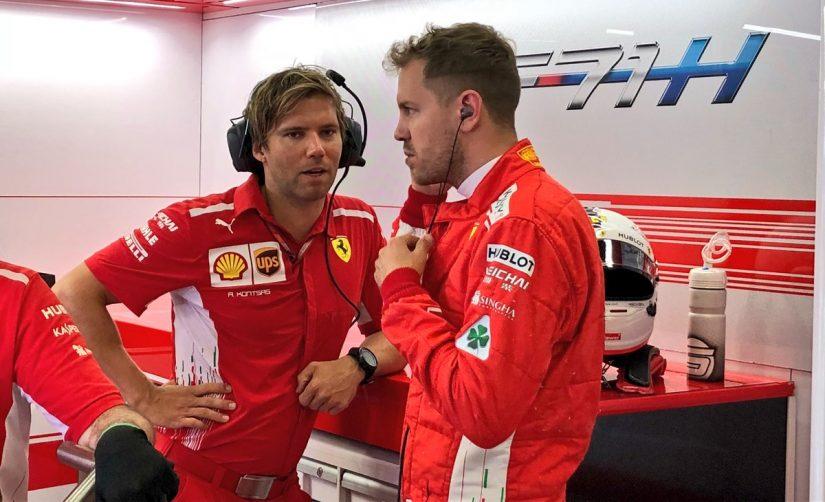 F1   ベッテル「順位は悪いが心配いらない。マシンにはポテンシャルがある」フェラーリ F1アゼルバイジャンGP金曜