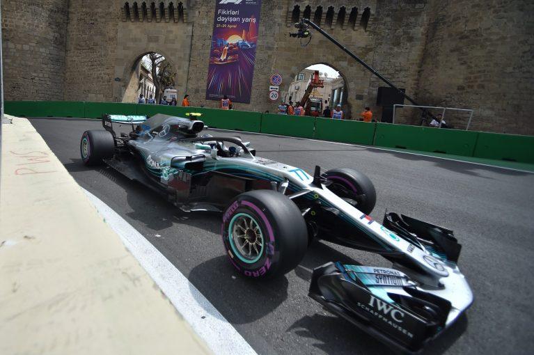F1 | ボッタス「運転しづらいマシン。速さはあるが、それを引き出せずにいる」メルセデス F1アゼルバイジャンGP金曜