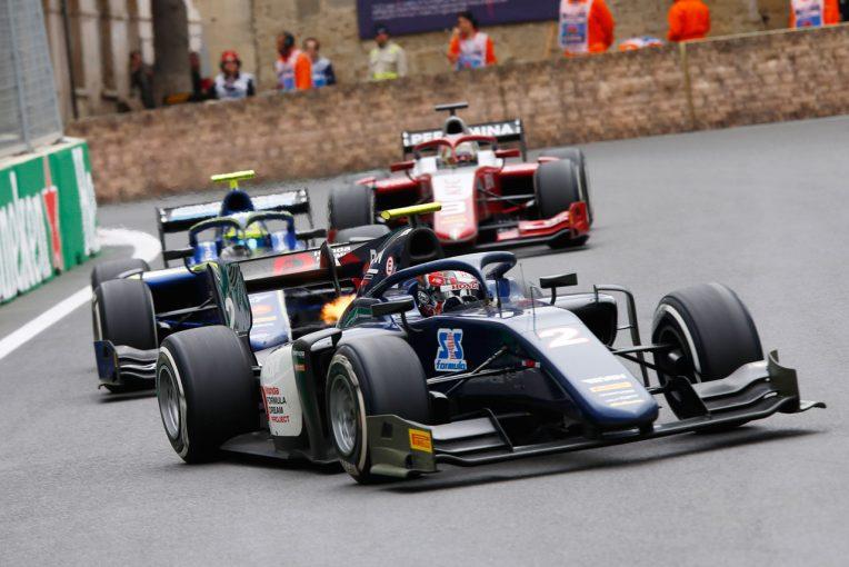 海外レース他 | FIA F2第2戦アゼルバイジャン レース1:アルボンがポール・トゥ・ウイン。牧野が初入賞を果たす