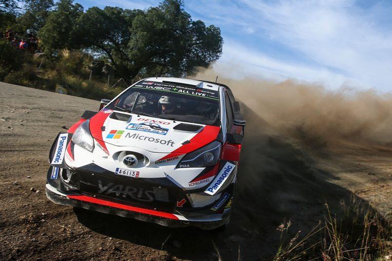 ラリー/WRC | WRCアルゼンチン:トヨタ、2018年初優勝へ王手。タナクが46.5秒のリードで最終日へ